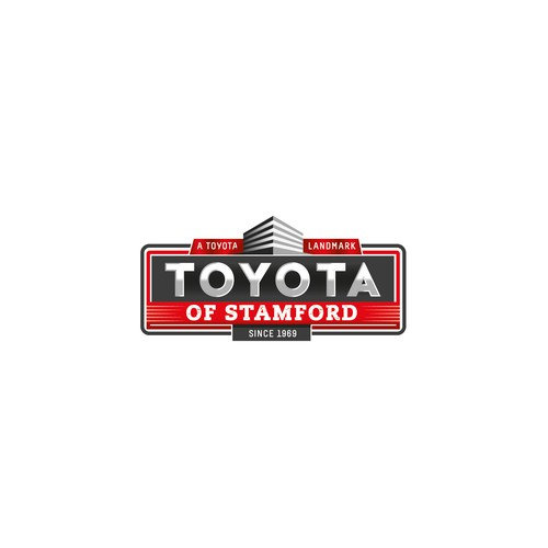 logo concept for Toyota dealer in Connecticut