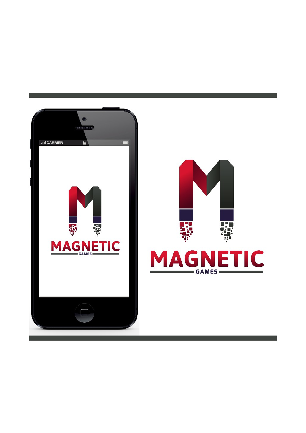 Mobile Gaming Company needs a Magnetic Logo