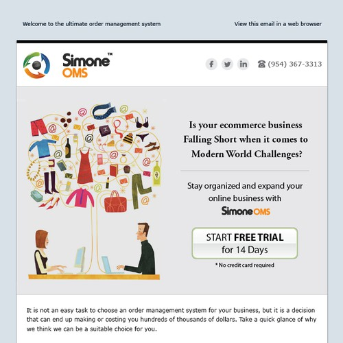 E-commerce Email Template