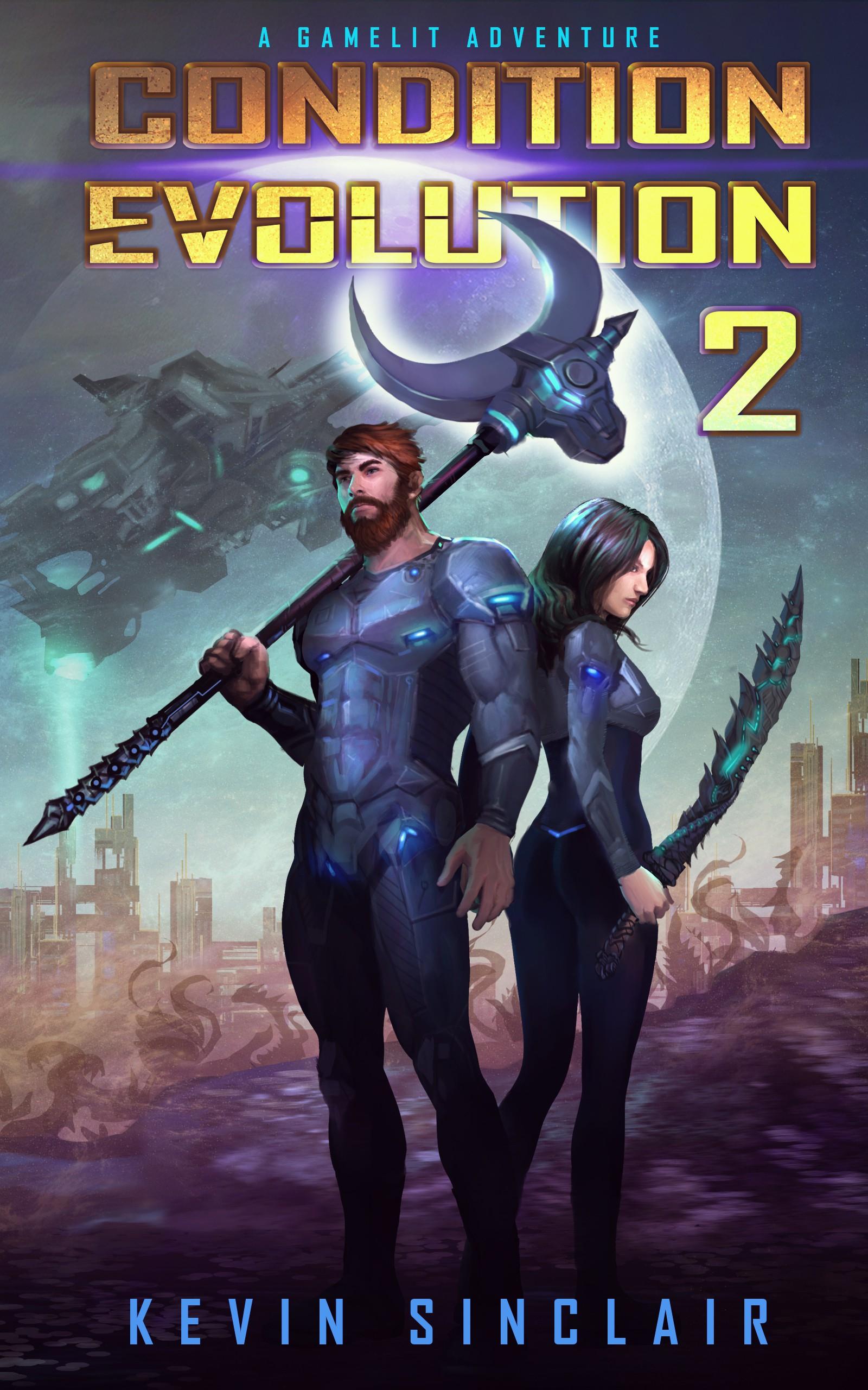 Game-Lit Sci-fi E-book Cover