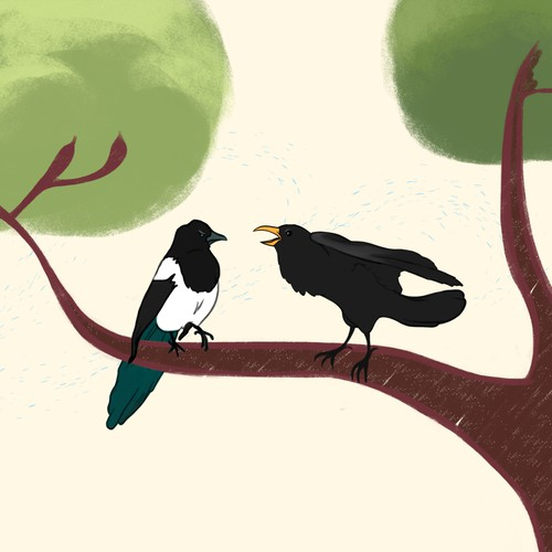 Crow and Magpie