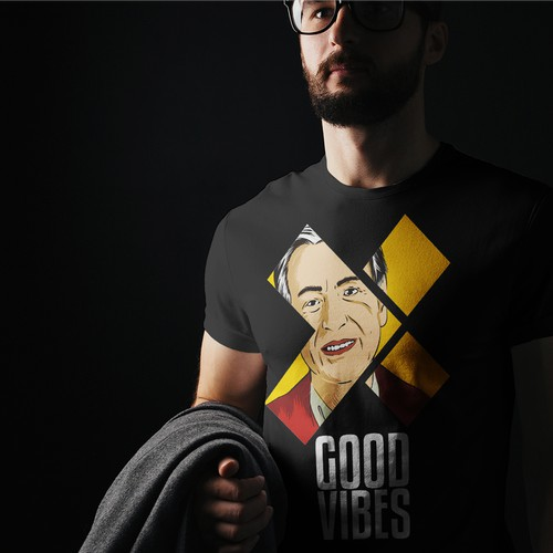 Good Vibes t-shirt Illustration
