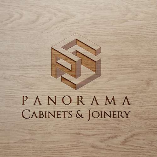 Panorama Cabinets & Joinery logo design