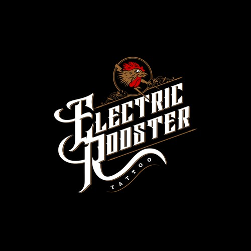 Electric Rooster tattoo