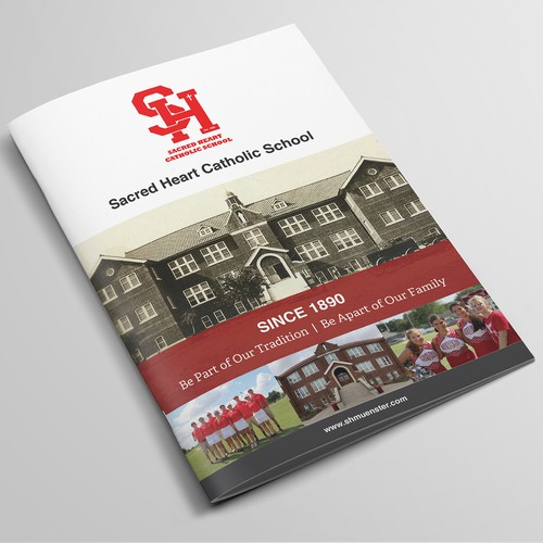 Sacred Heart Catholic School Brochure Design