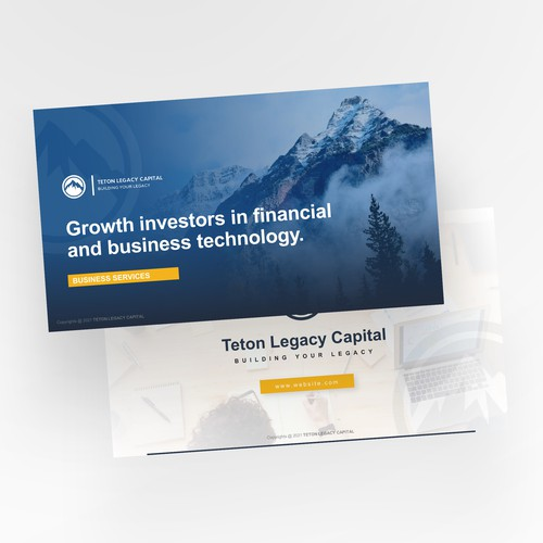 Powerpoint presentation for investment