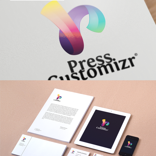 Logo for Press Customizr  : create a simple, original and memorable design
