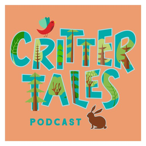 Podcast cover for children's author