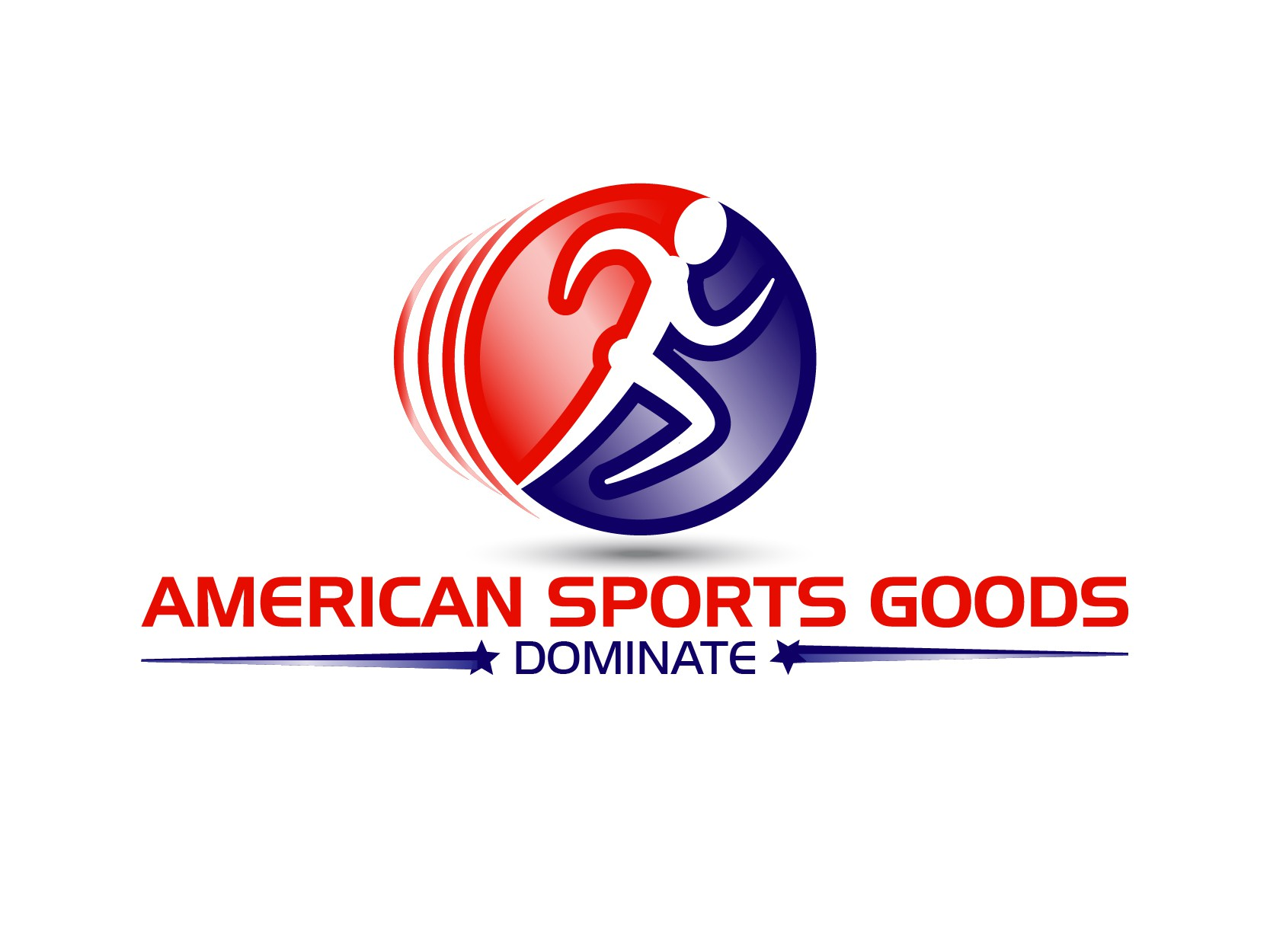 Design fun and exciting logo for American Sports Goods