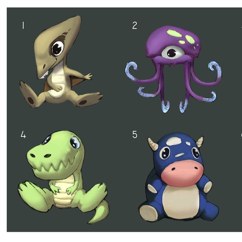 Plushies(concepts)