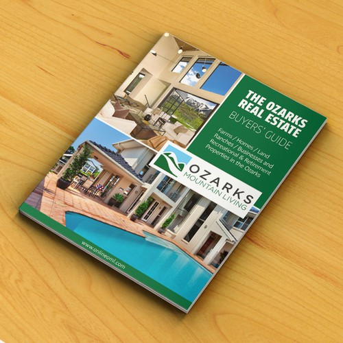 Ozarks Real Estate magazine cover
