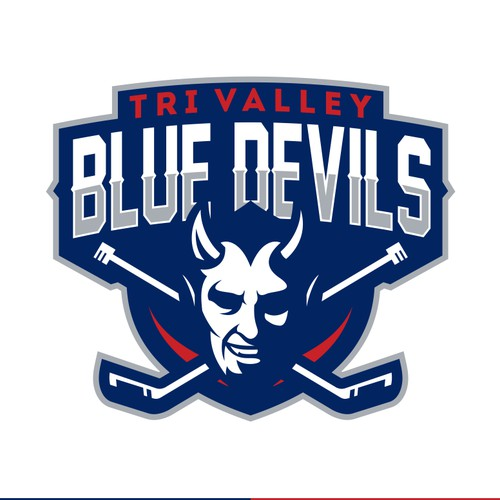 Sport logo for Tri Valley Blue Devils Youth Hockey