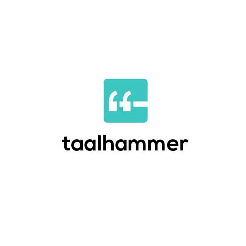 Logo for language learning application.