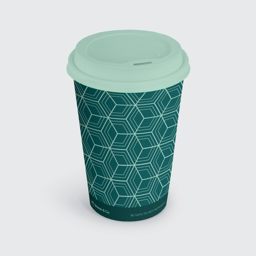 Coffee cup pattern