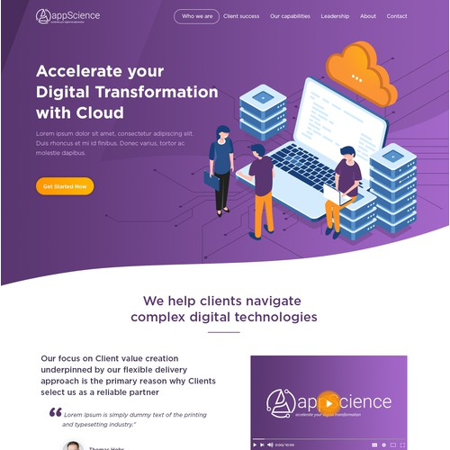 New design for a Technology company!