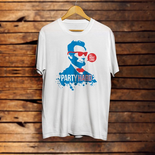 T-Shirt | Party Abe