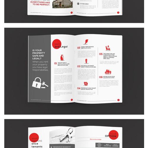 Brochure design for PMS Lettings