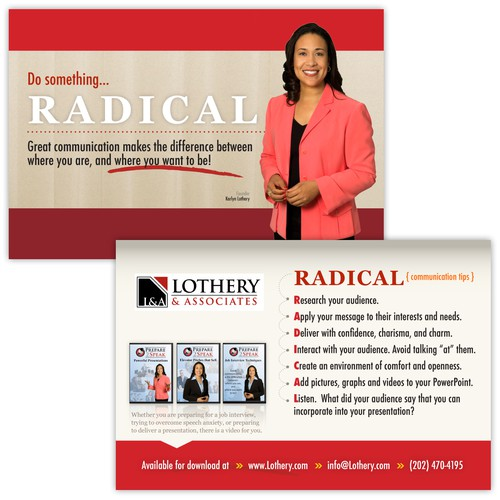 Radical Tip Card