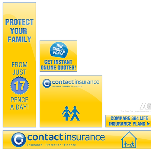 Life Insurance - Banner Design Contest