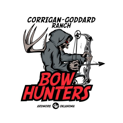 Strong logo for hunting industry