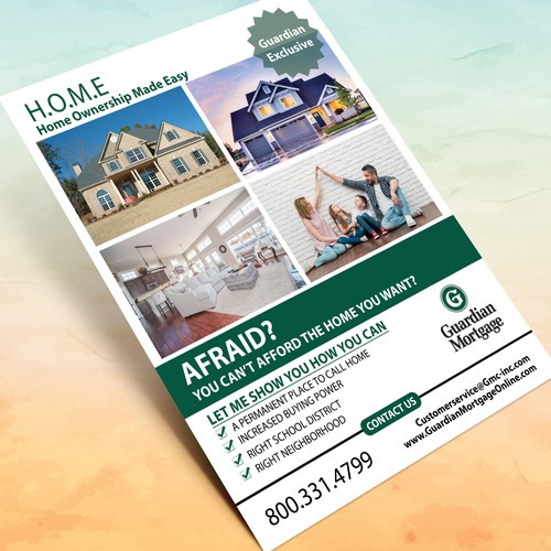 Flyer for Mortgage Company