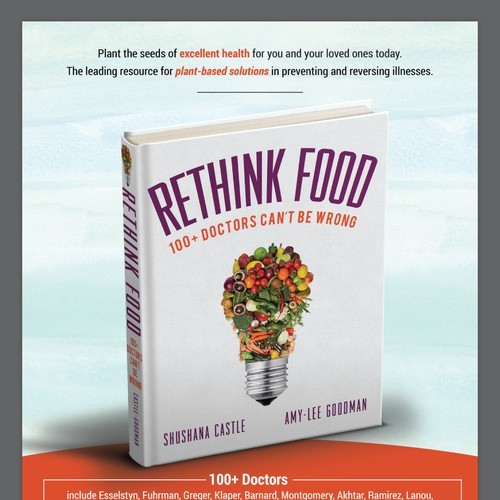 Ad design for Rethink Food book