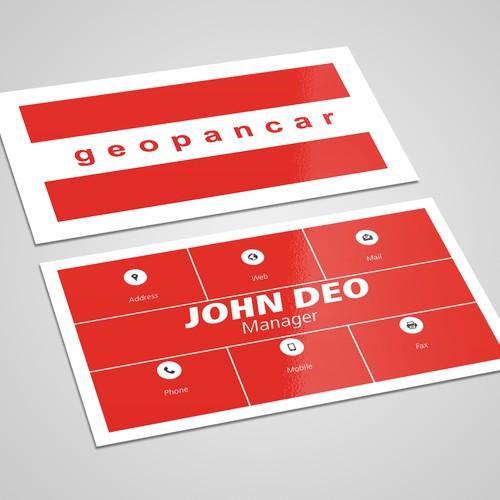 Business Card Design 001