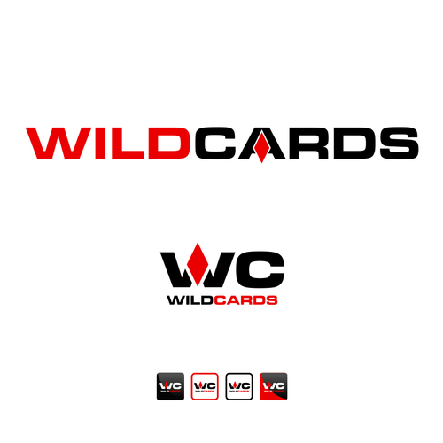 Bold logo for wildcards