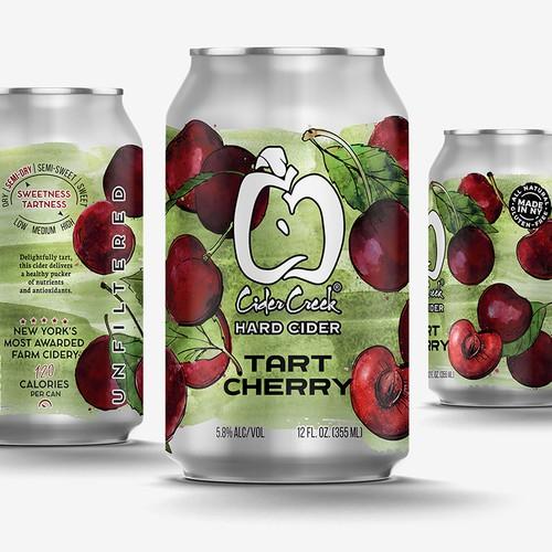 Tart Cherry Hard Cider
