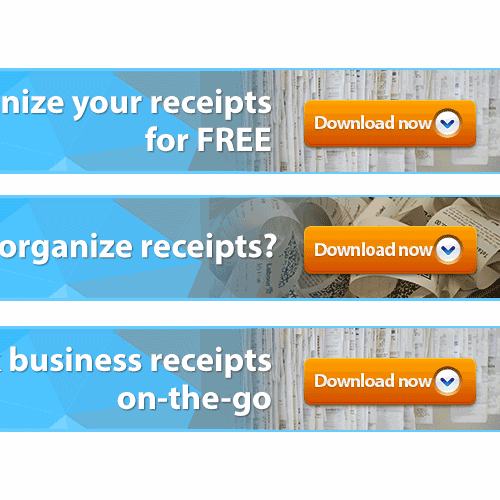 Create the next mobile banner for Shoeboxed