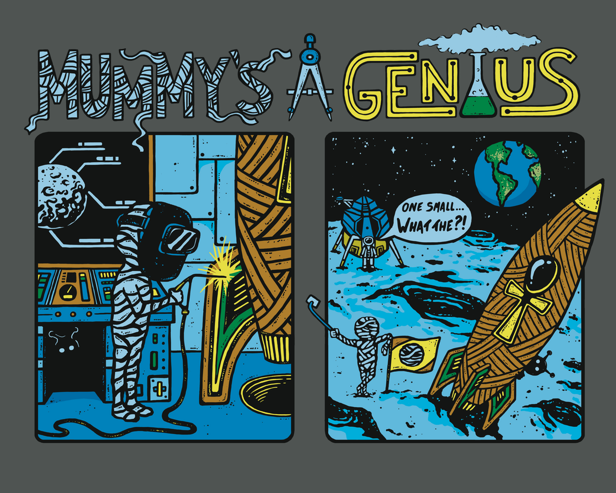 Mummy's A Genius: Moon Landing