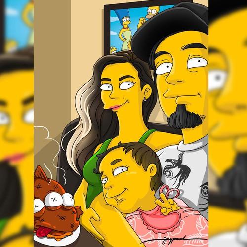 Family Portrait (Simpson Version)