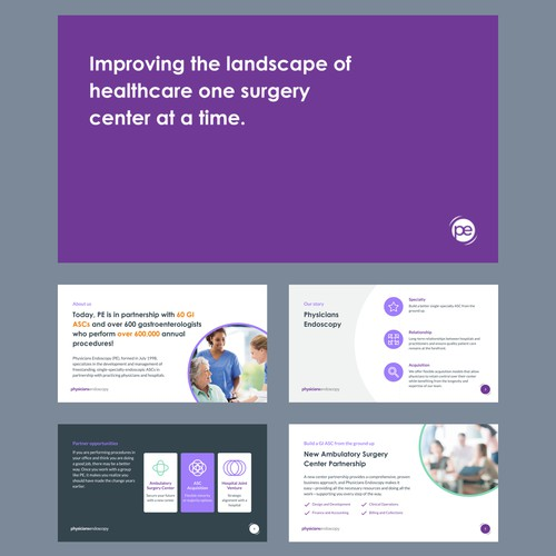 Presentation Design for Physicians Endoscopy