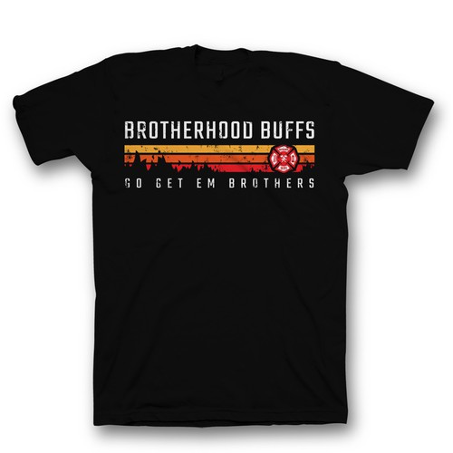 The Brotherhood Buffs New Firefighter T-Shirts