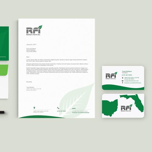 RFI - Professional Farm Business Card