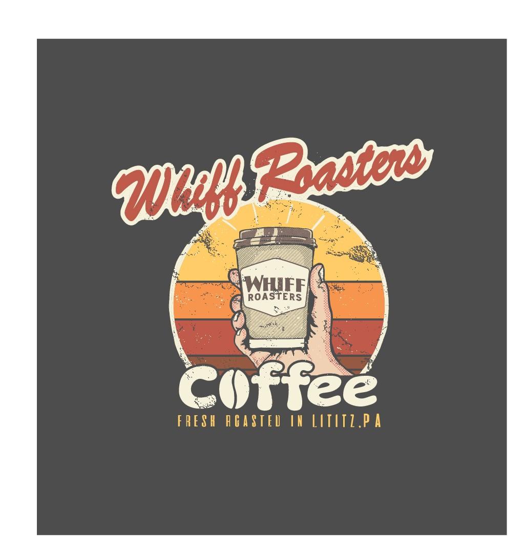 Design a fun, modern t-shirt for Whiff Coffee Roasters