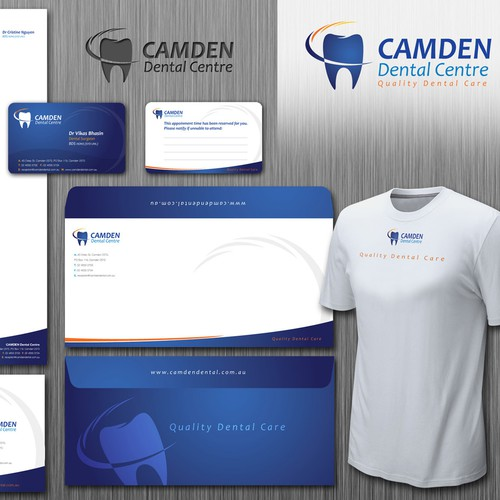 New stationery wanted for Camden Dental Centre