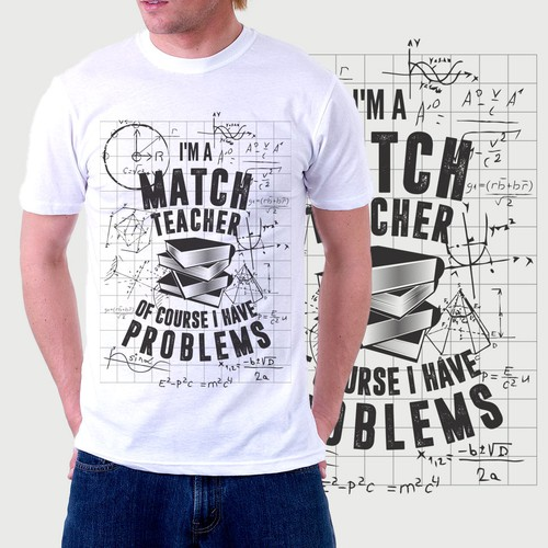T-shirt for Match Teacher