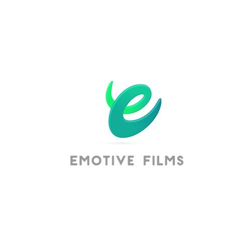 Emotive Films logo design concept