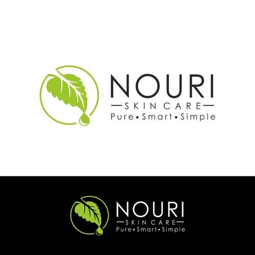 Express your organic creativity of simplicity for Nouri Skin Care