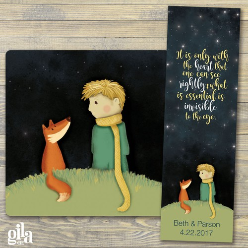 Le Petit Prince - The Little Prince - Illustration