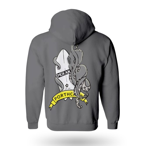 octopus surf hoodie concept