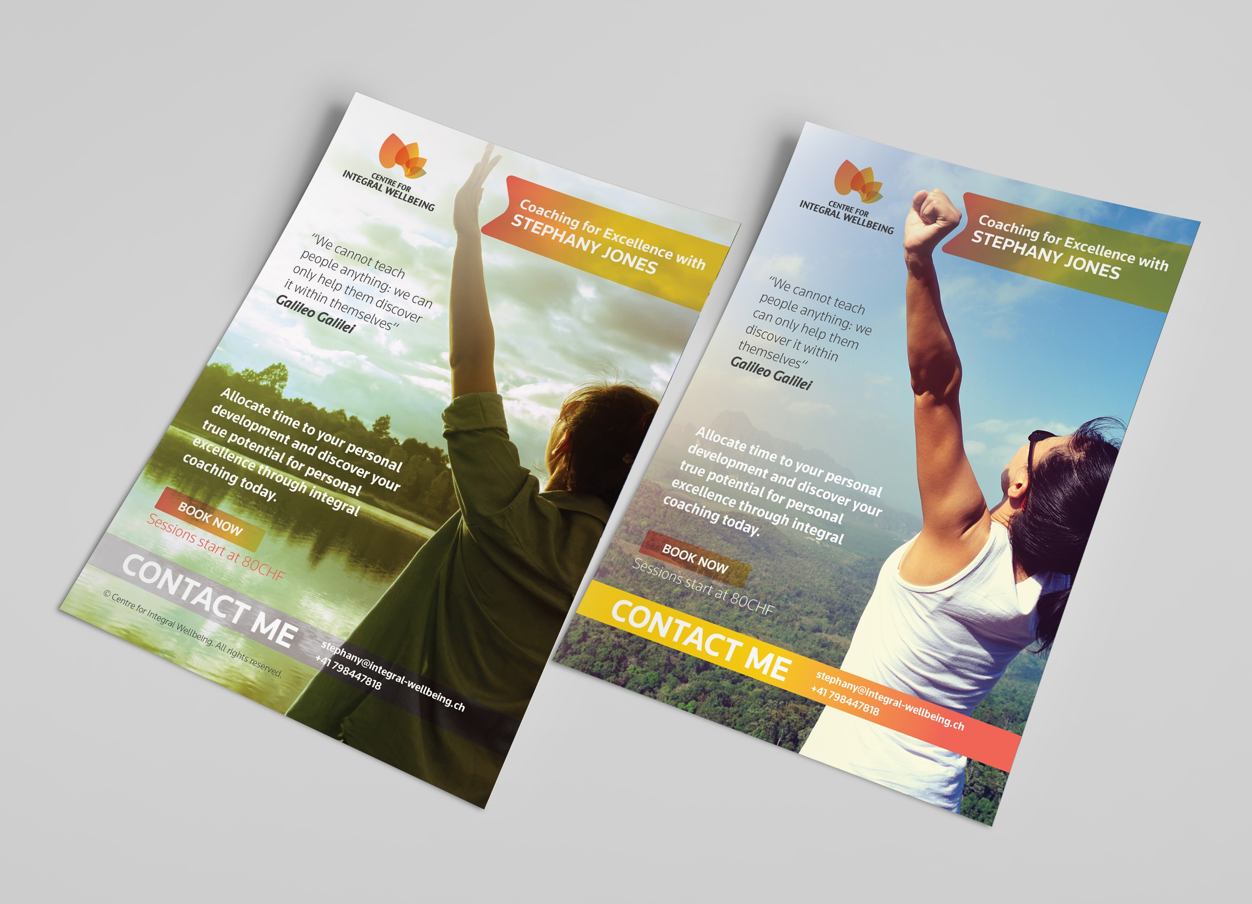 Poster Design for Centre for Integral Wellbeing