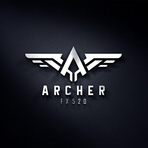 Automotive Logo for Mustang ARCHER FX 520