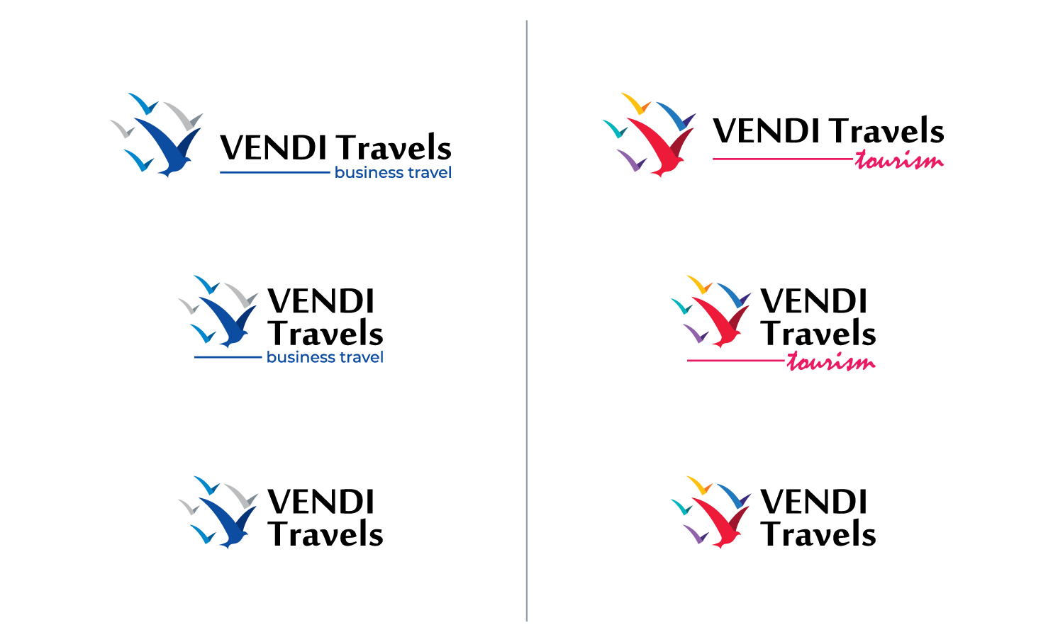Create a borderless logo for the travel agency that makes your dreams come true