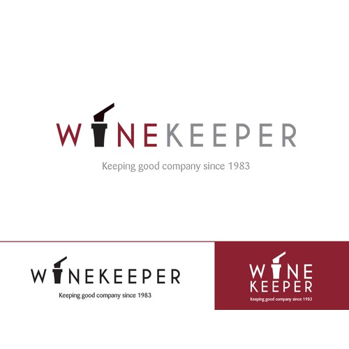 logo for WineKeeper