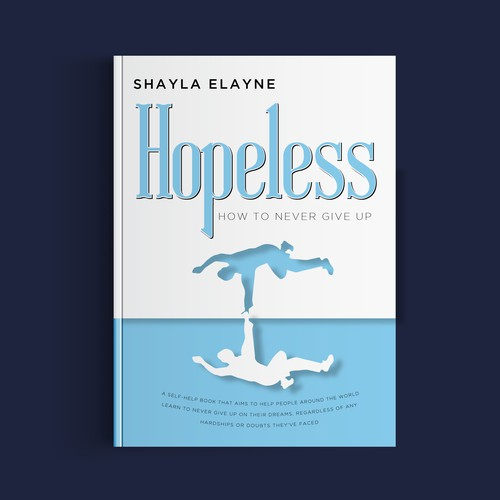 Self-help cover concept for Shayla Elayne book