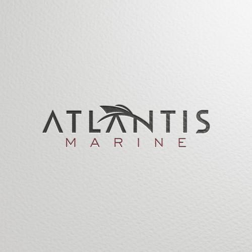 Logo for Atlantis Marine
