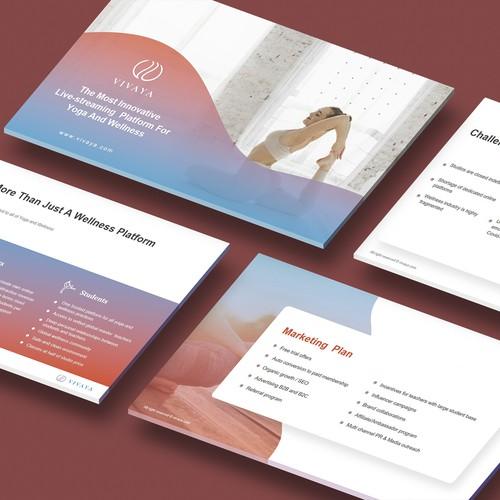 VIVAYA Presentation Design