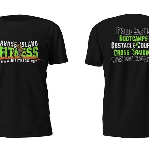 RI Fitness tshirt design